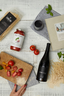 Pasta & Wine Gift Crate