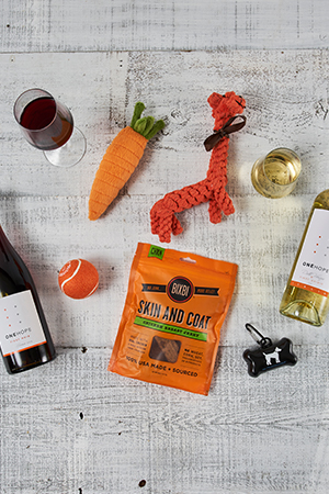 Pinot for Paws WOOF! Gift Crate