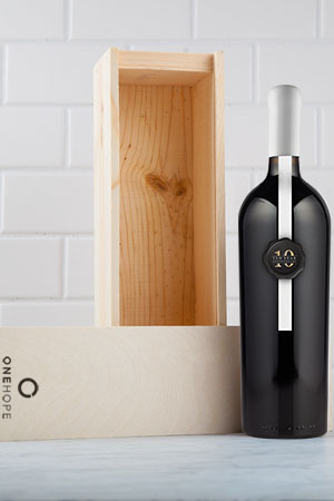 Limited Edition ONEHOPE 10 Year Anniversary 2012 Napa Valley Cabernet Sauvignon 1.5L Magnum