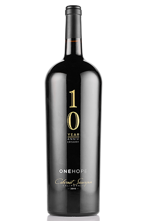 Limited Edition ONEHOPE 10 Year Anniversary 2015 California Cabernet Sauvignon 1.5L Mangum