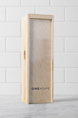 ONEHOPE Single Bottle Wood Gift Boxes