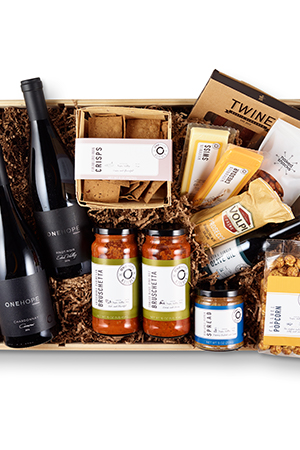 Wine & Cheese Party Gift Crate