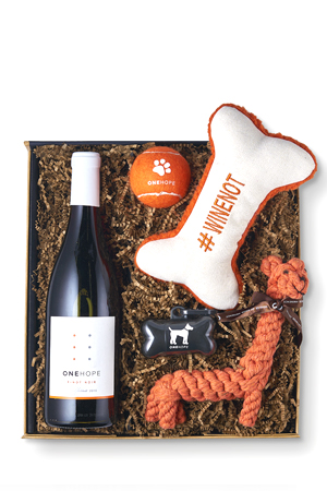 Pinot For Paws: Woof! Gift Box