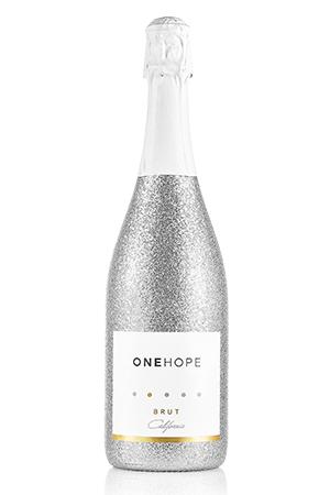 CA Sparkling Brut Silver Shimmer Bottle
